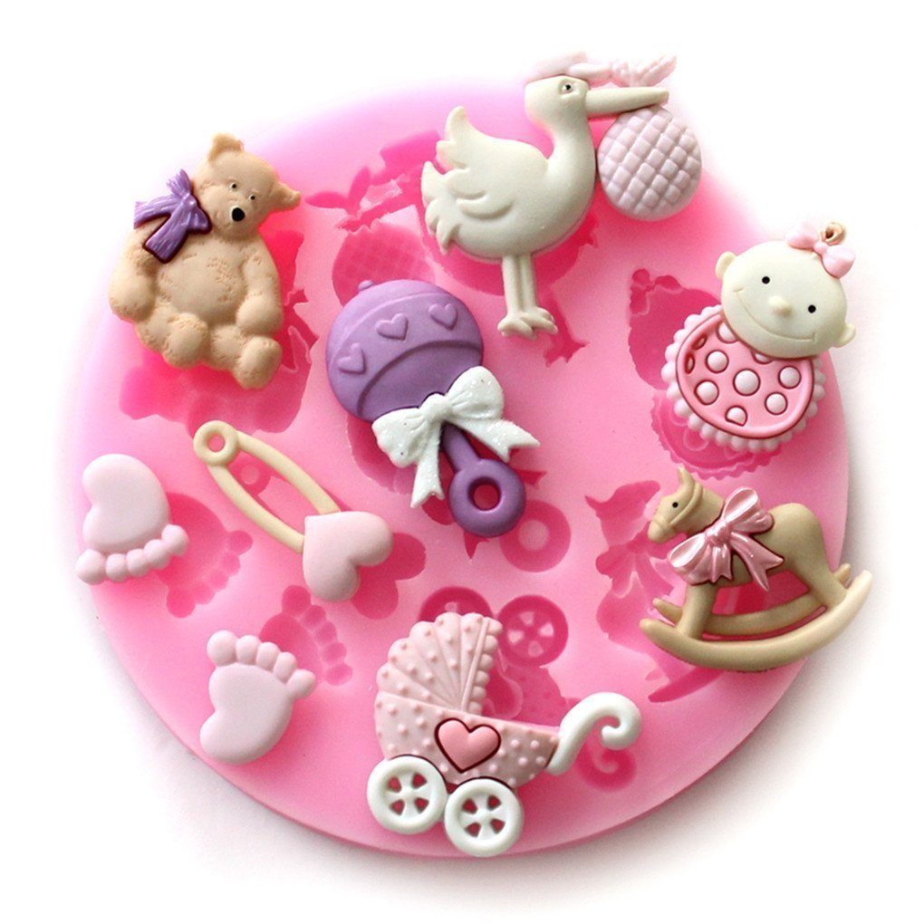 Ita cakes decorating supplies for Baby shower function decoration