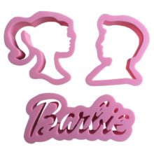 Barbie Cookie cutter