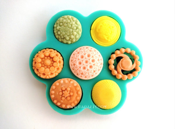 Brooches and Buttons - Silicone Mold