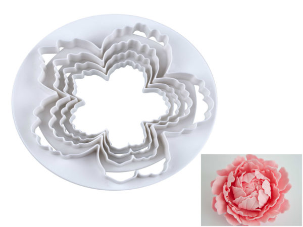 Easy Peony - XL Cookie Cutter Set