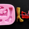high-heel-shoes-boots-silicone-molds