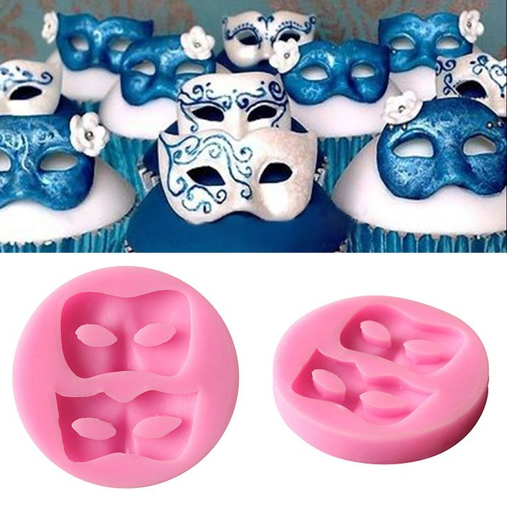 Party Face Masks Silicone Mold Itacakes Part 1