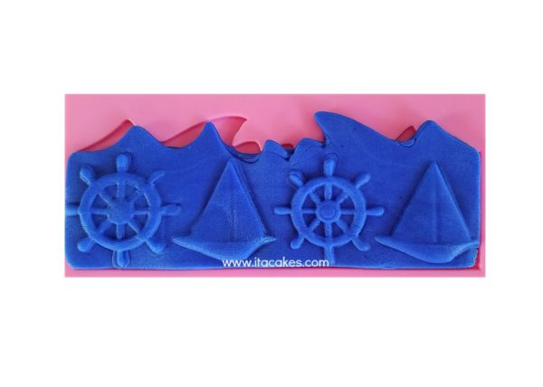 Nautical silicone mold