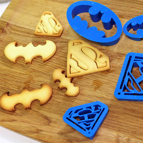 Superman Cookie Cutters