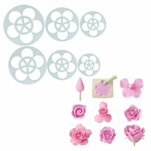 Five Petal Rose Flower  Cookie Cutter