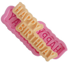 Happy Birthday - Silicone Mold