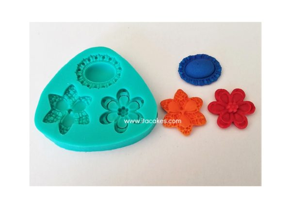 Broochs Silicone Mold