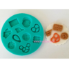 Cookies, Biscuits, Pretzels, Crackers, Chocolate – Silicone Mold