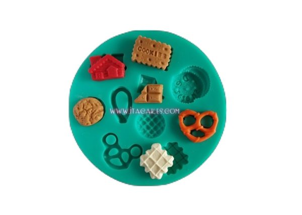 cookies silicone mold