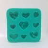 Hearts Sililcone Mold