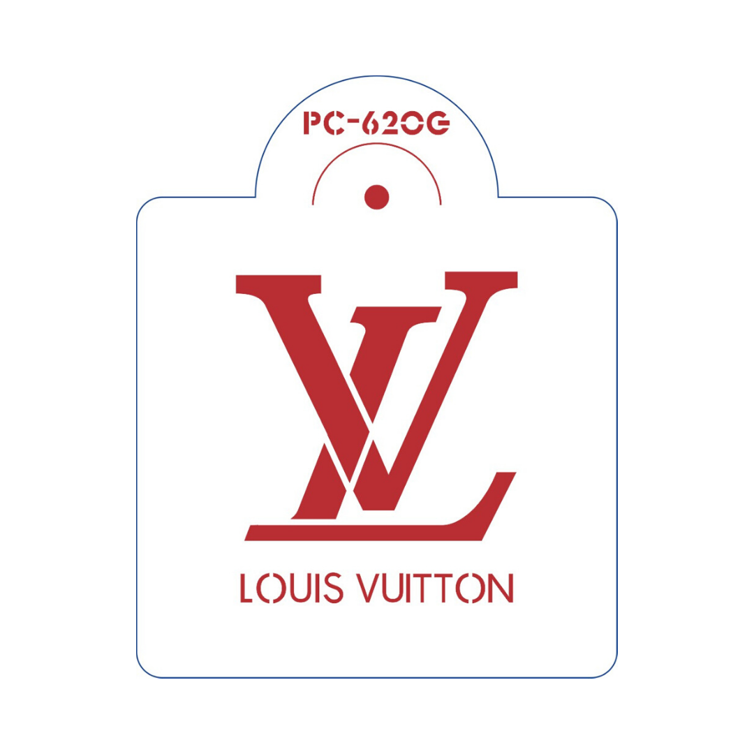 Louis Vuitton Stencil #7 | Itacakes - Part 1